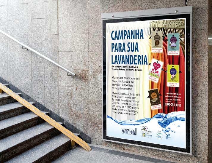Cartazes, posters e displays promocionais